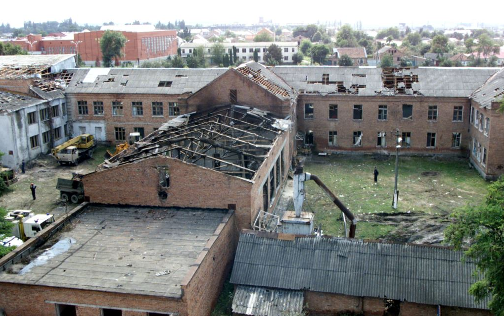 2004 attack by Chechen Islamic extremists on Beslan School #1